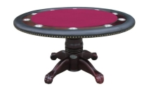 More Features of Round Poker Tables
